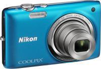 Компактный фотоаппарат Nikon Coolpix S2700 (Blue) - общий вид