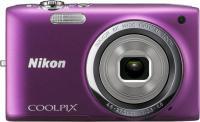 Компактный фотоаппарат Nikon Coolpix S2700 (Purple) - вид спереди