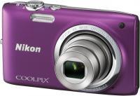 Компактный фотоаппарат Nikon Coolpix S2700 (Purple) - общий вид