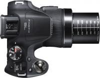 Компактный фотоаппарат Fujifilm FinePix SL240 (Black) - вид сверху