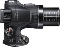 Компактный фотоаппарат Fujifilm FinePix SL260 (Black) - вид сверху