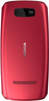 Мобильный телефон Nokia Asha 306 Red - задняя панель