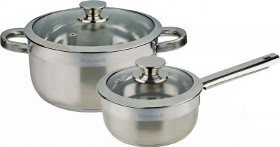 Набор кухонной посуды Maxwell MLS-303 Blackcurrant - общий вид