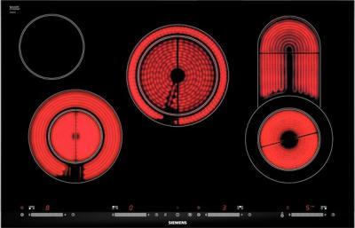 Электрическая варочная панель Siemens ET875SC11D - общий вид