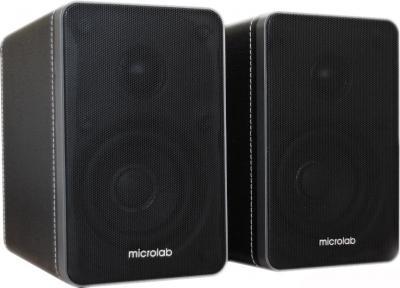 Мультимедиа акустика Microlab H 21 Black (H21-3164) - общий вид