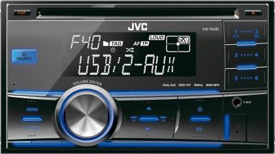 Автомагнитола JVC KW-R400EE - общий вид