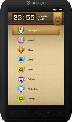 Электронная книга Prestigio eBook Reader PER3574B (microSD 4Gb) - общий вид