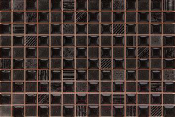 Мозаика для кухни Pamesa Ceramica Cube Negro (300x200)