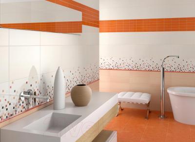 Декоративная плитка для кухни Pamesa Ceramica Vetro Naranja (400x15)