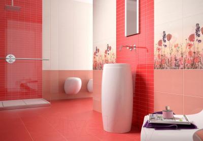 Декоративная плитка для кухни Pamesa Ceramica Vetro Rojo (400x15)