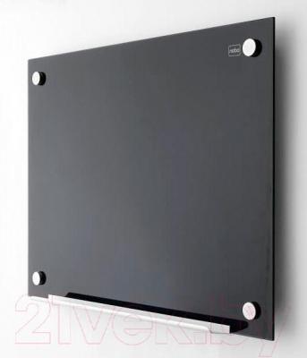 Магнитно-маркерная доска NOBO Diamond Black 1903838 (450x600) - в интерьере