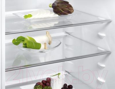 Холодильник с морозильником Electrolux EN3613MOX