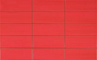 Плитка для стен кухни Pamesa Ceramica Vetro Rlv Rojo (400x250)