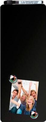 Магнитно-маркерная доска NOBO Quartet 1903811 (360x140) - черного цвета