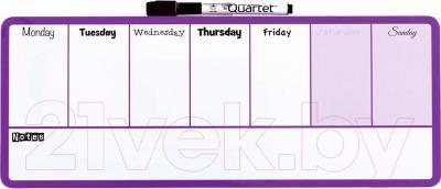 Магнитно-маркерная доска NOBO Quartet Weekly Organiser 1904048 (140x360)