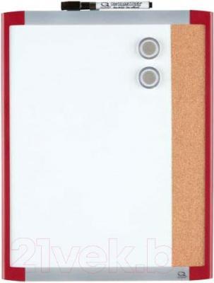 Магнитно-маркерная доска NOBO Quartet Сombo 1903767 (280x360)