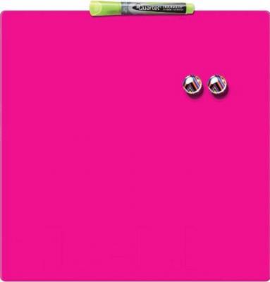 Магнитно-маркерная доска NOBO Quartet Pink 1903803 (360x360)