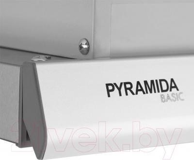 Вытяжка телескопическая Pyramida TL 60/D (нержавеющая сталь)