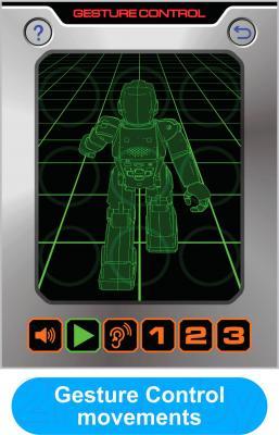Радиоуправляемая игрушка Silverlit Blu-Bot (88022S)