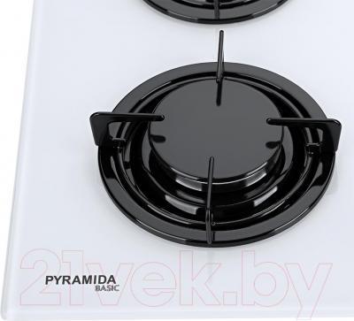 Газовая варочная панель Pyramida PFG 646 (белый)