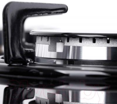 Газовая варочная панель Pyramida PFG 646 (черный)