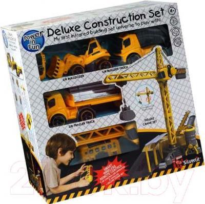 """Радиоуправляемая игрушка Silverlit Мега стройка """"Power in fun"""" 81110 - упаковка"""