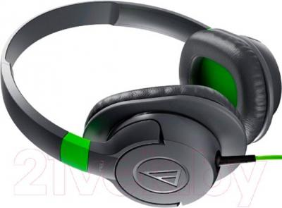 Наушники-гарнитура Audio-Technica ATH-AX1iS (серый)