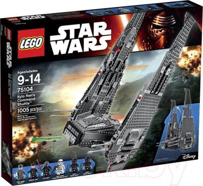 Конструктор Lego Star Wars Kylo Ren's Command Shuttle (75104)