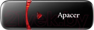 Usb flash накопитель Apacer AH333 Black 8GB (AP8GAH333B-1)