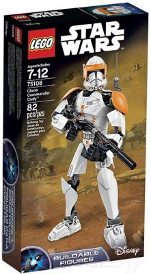 Конструктор Lego Star Wars Clone Commander Cody (75108)