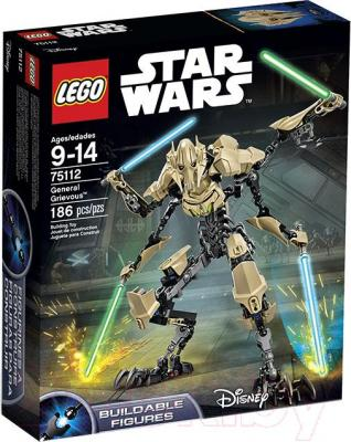 Конструктор Lego Star Wars General Grievous (75112)