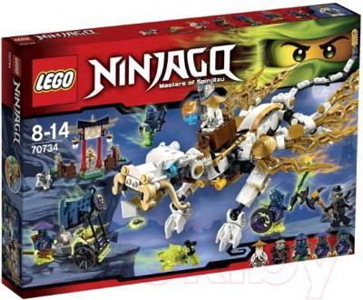 Конструктор Lego Ninjago Дракон Сэнсэя Ву (70734)