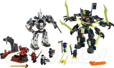 Конструктор Lego Ninjago Битва механических роботов (70737)