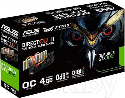 Видеокарта  Asus STRIX GTX 970 DirectCU II OC 4GB GDDR5 (STRIX-GTX970-DC2OC-4GD5)