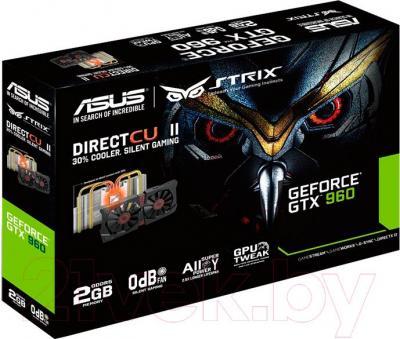 Видеокарта  Asus GeForce GTX 960 2GB GDDR5 (STRIX-GTX960-DC2-2GD5)