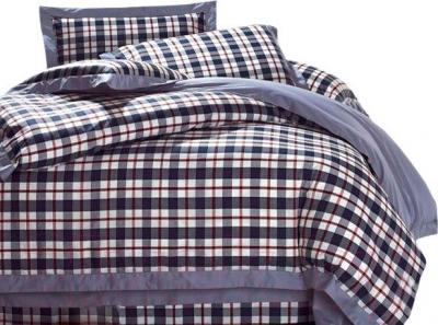 Комплект постельного белья Arya Bordeaux Crystal (200x220) - общий вид комплекта