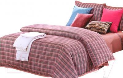 Комплект постельного белья Arya Bordeaux Troyes (200x220) - общий вид комплекта