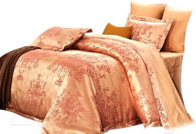 Комплект постельного белья Arya Pure Жаккард Flory (200x220)