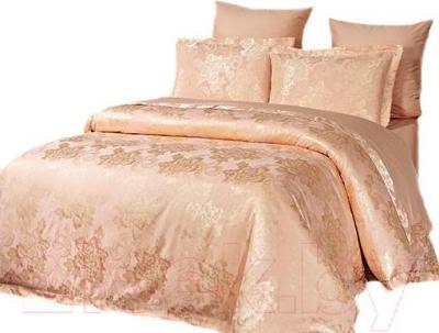 Комплект постельного белья Arya Pure Жаккард Manon (200x220) - общий вид комплекта