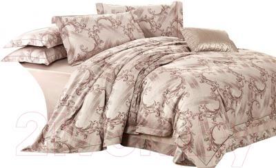 Комплект постельного белья Arya Romance Жаккард Delbin (200x220)