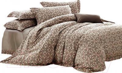 Комплект постельного белья Arya Romance Жаккард Karresla (200x220) - общий вид комплекта