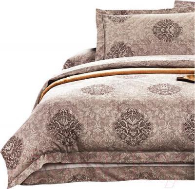 Комплект постельного белья Arya Romance Жаккард Yalena (200x220) - общий вид комплекта