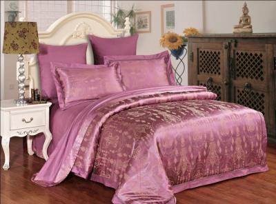 Комплект постельного белья Arya Magestic Бамбук Жаккард Kennedy (200x220)