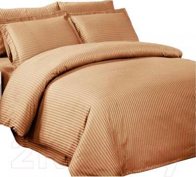 Комплект постельного белья Arya Бамбук Coffe (200x220)