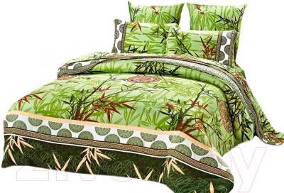 Комплект постельного белья Arya Бамбук Line Mirow (200x220) - общий вид комплекта