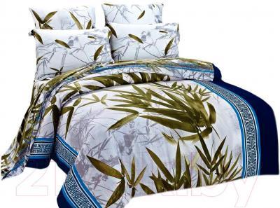 Комплект постельного белья Arya Бамбук Line Patten (200x220) - общий вид комплекта