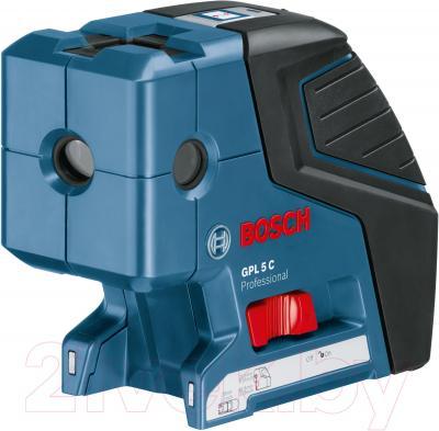 Лазер точечный Bosch GPL 5 С + BS 150 (0.601.066.301) - общий вид