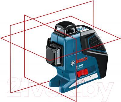 Нивелир Bosch GLL3-80P+BM1+LR2 (0.601.063.303) - общий вид