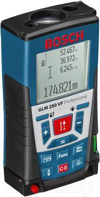 Дальномер лазерный Bosch GLM 250 VF Professional (0.601.072.100) - общий вид