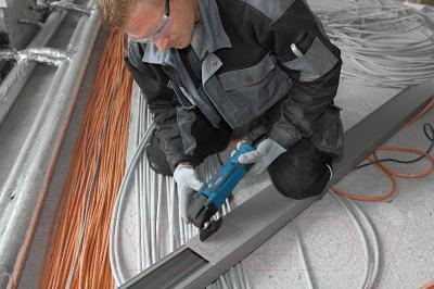 Профессиональный мульти-инструмент Bosch GOP 250 CE Professional (0.601.230.000) - в работе